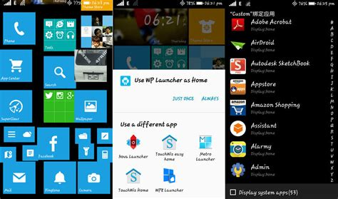 window 8 launcher for android launcher de windows 8 para android