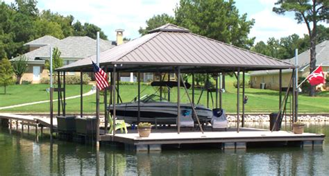boat dock roof design hip roof covered boat docks flotation systems aluminum