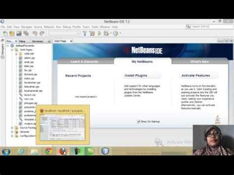 tutorial membuat aritmatika dengan java netbeans youtube membuat database dan sistem informasi posyandu dengan java