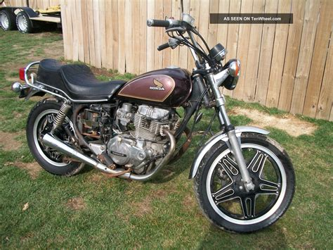 1981 honda motorcycle 1981 honda cm 4oo custom motorcycle