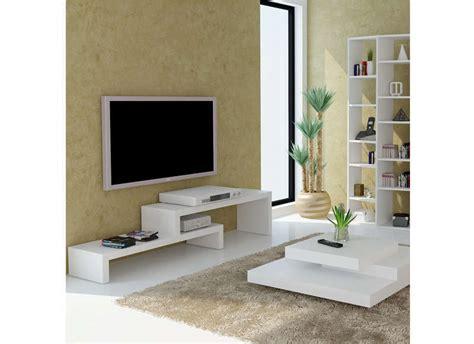 Incroyable Coussin De Chaise Blanc #10: Meuble-tv-gigogne-blanc-2-1.jpg