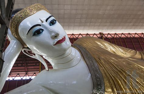 Reclining Buddha Myanmar by Reclining Buddha In Chaukhtatgyi Paya Yangon Rangoon