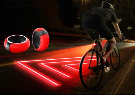 Bike Lights by The Xfire Safety Light Creates A Laser Generated Bike For Safer Cycling Inhabitat