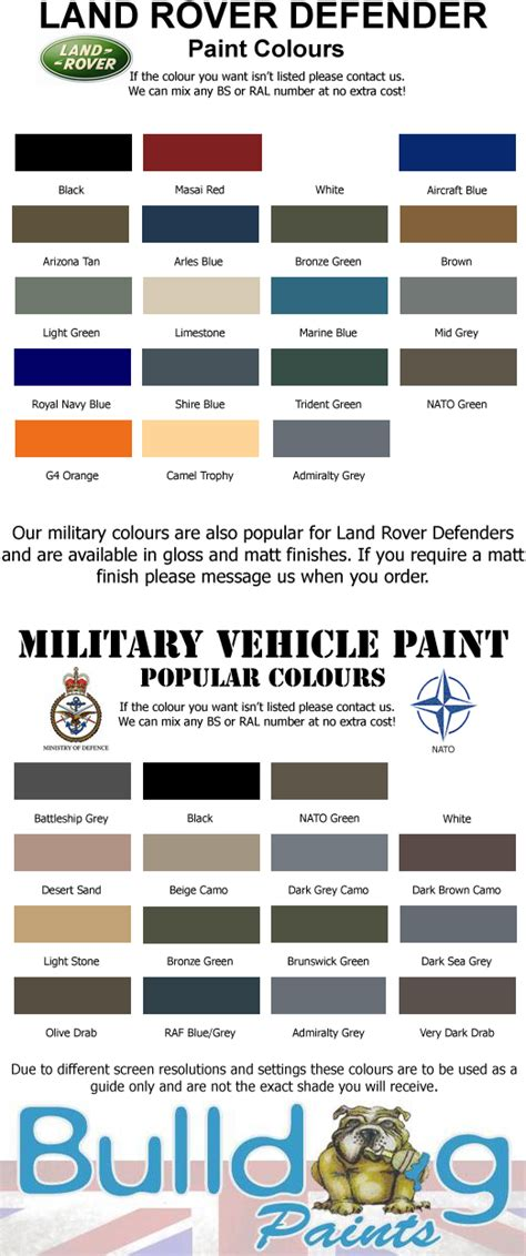 land rover defender colours land rover defender and land rovers on