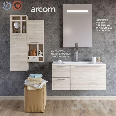 arcom bathroom 3d models bathroom furniture a set of furniture for a