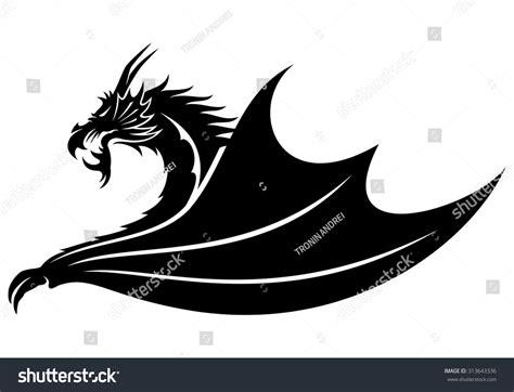 dragon vector sign 313643336 shutterstock