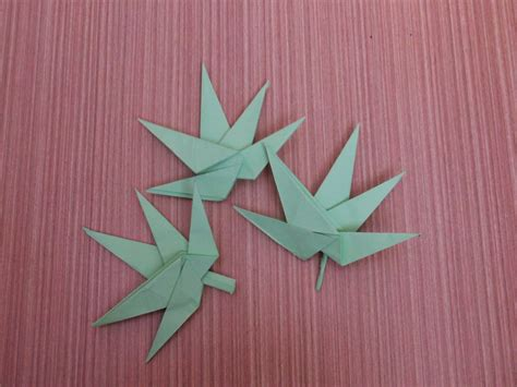 Origami Pot Leaf - how to make a paper marijuana origami cannabis flower