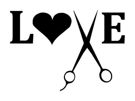 Jesus Home Decor by Hairdresser Love Stylist Scissors Decal Sticker Beauty