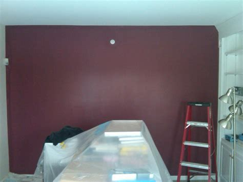 maroon wall paint burgundy wall paint dark brown hairs