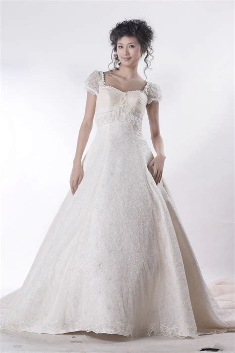fashion ladies non traditional wedding dresses picture