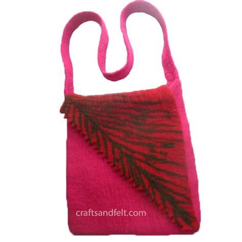 Handmade Felt Bags - handmade felt bag wholesale from nepal