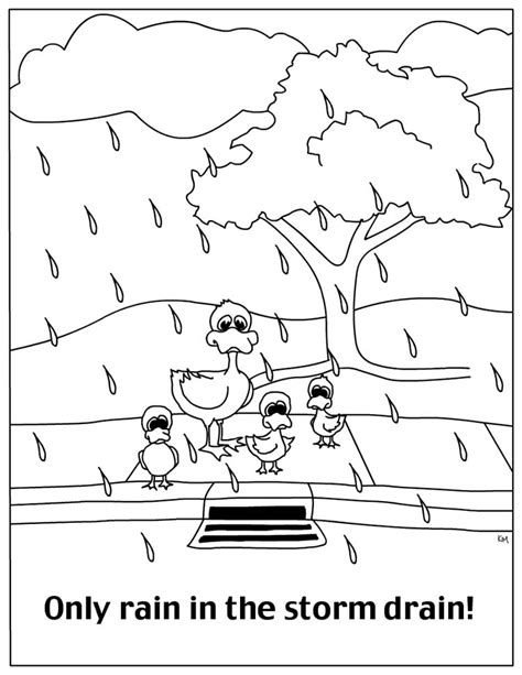 free coloring pages of water cycle