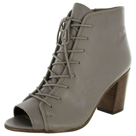 steve madden womens neela wedge peep toe bootie shoe ebay