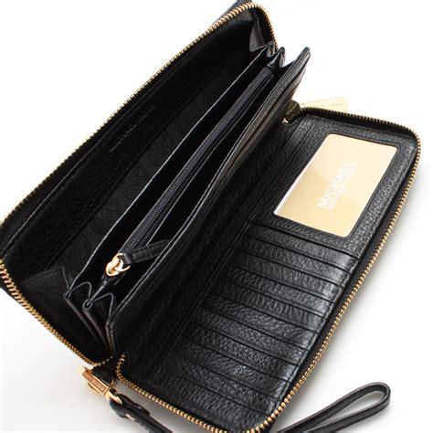 82588 Michael Kors Set 2 In 1 1 michael kors jet set travel leather continental wallet