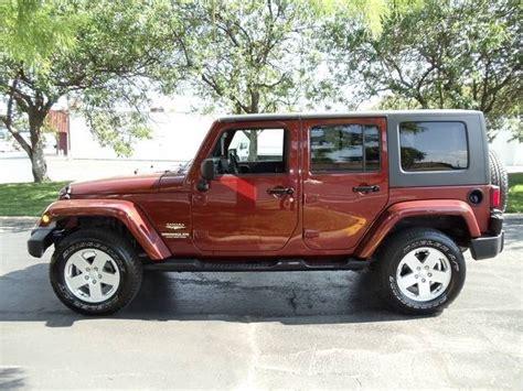 Burnt Orange Jeep Wrangler Sahara This Is My Fun Car I D