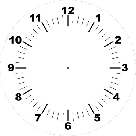printable clock face graphic clock face clip art at clker com vector clip art online