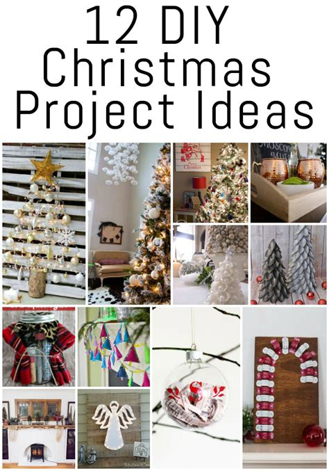diy projects christmas 12 diy project ideas erin spain