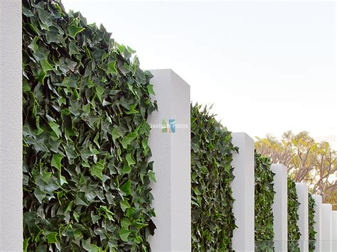 Backyard Space Residential Artificial Hedges