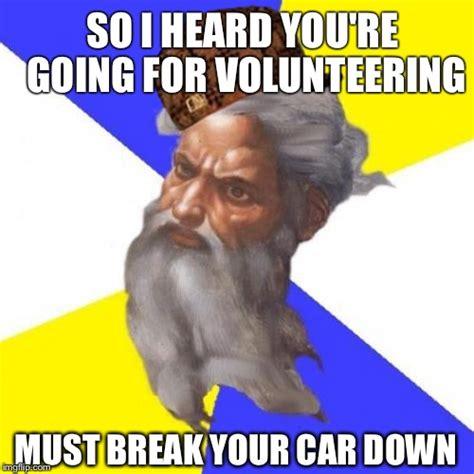 Breaking Down Meme - advice god meme imgflip