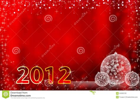 new year card background 2012 happy new year greeting card or background stock