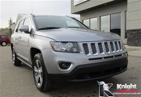 2017 jeep compass sunroof 2017 jeep compass high altitude edition heated leather