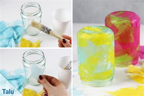 Teelichthalter Basteln Glas by Windlicht Basteln 4 Kreative Diy Ideen Talu De