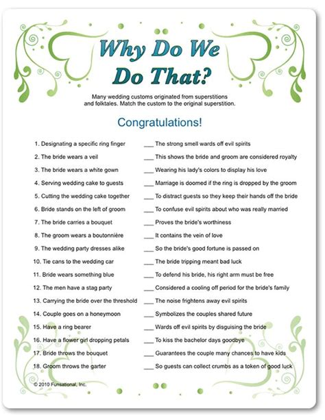 free printable bridal shower game why do we do that wedding games picmia