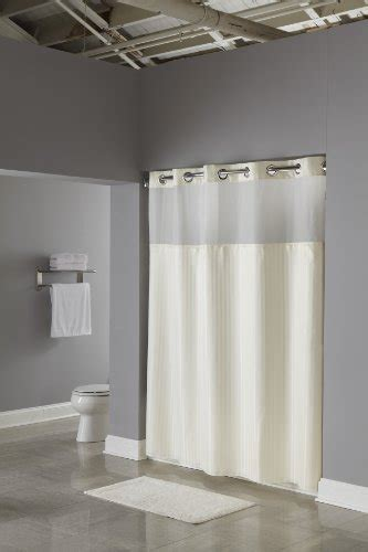 extra wide hookless shower curtain hookless fabric shower curtain with built in liner beige curtain store