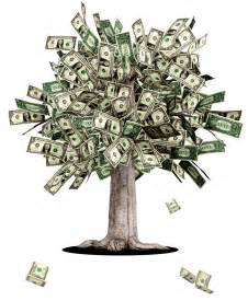 Money tree on your computer that will drop money into your account for