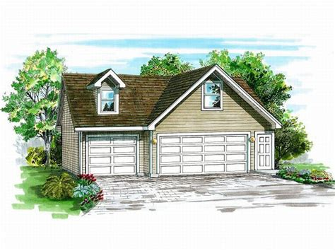 3 Car Garage Plans With Loft by 3 Car Garage Plans Detached Three Car Garage Plan With