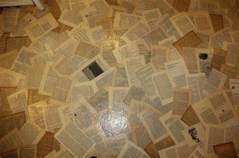 Decoupage Floor Ideas - floor decoupage pages bloody poetry home