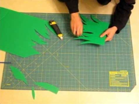 How To Make Grass Out Of Paper - mister grass