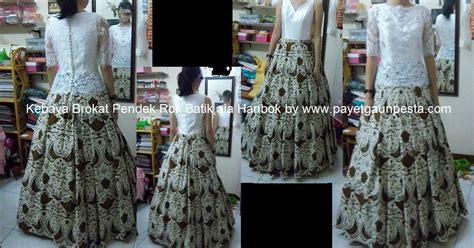 Rok Pendek Wrk 261 payet gaun pesta desain baju pesta kebaya modern dan gaun pengantin kebaya brokat perancis