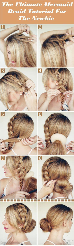 the ultimate mermaid braid step by step instructions the ultimate mermaid braid tutorial for the newbie