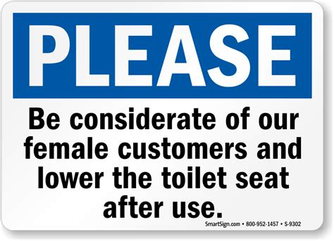 the sit seat toilet seat signs