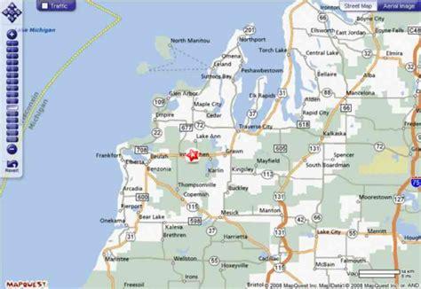 map of northern mi map northern michigan map travel holidaymapq