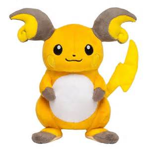 Pokemon center 2015 raichu plush toy apps directories