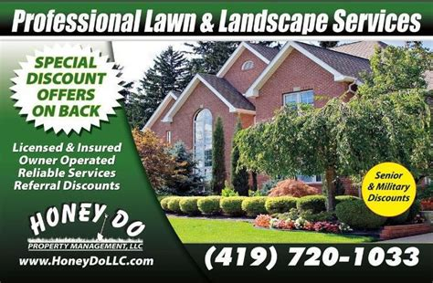 landscaping toledo ohio toledo lawn care service honey