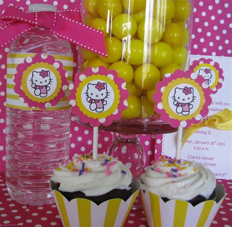 kitty birthday themes sheek shindigs etsy shop hello kitty