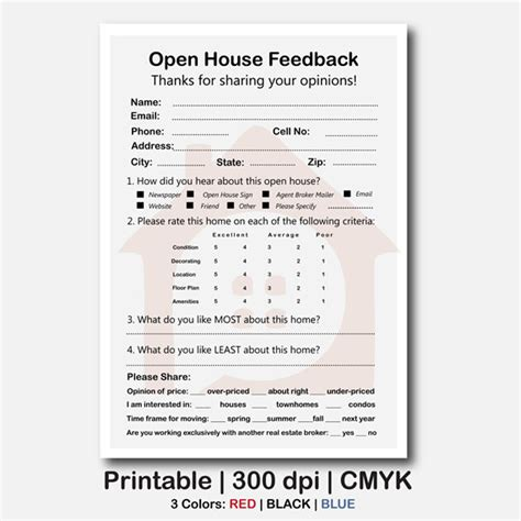 open house registration form real estate real estate open house feedback form real estate signs real