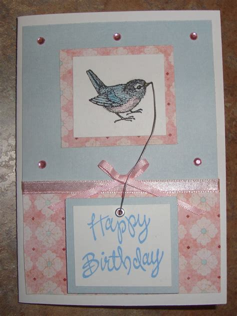 Birthday Cards Pintrest Birthday Card Homemade Cards By Janie Cox Pinterest