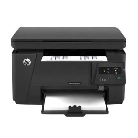 Printer Laserjet Pro Mfp M125a jual hp laserjet pro mfp m125a hitam printer print scan