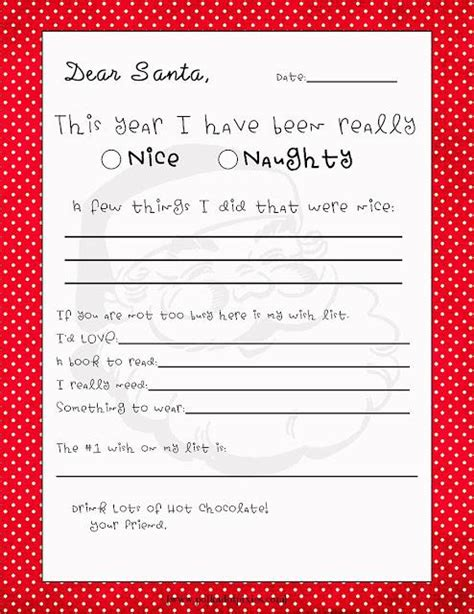 20 Free Printable Letters To Santa Templates Spaceships And Laser Beams Letter To Santa Template