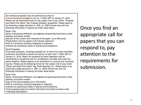 how to write call for papers writing abstracts for conferences