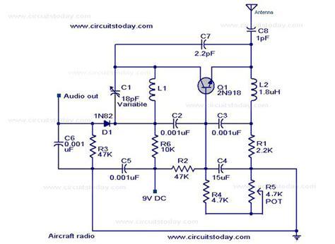 radio remote circuit diagram radio circuits electronic circuits and diagram