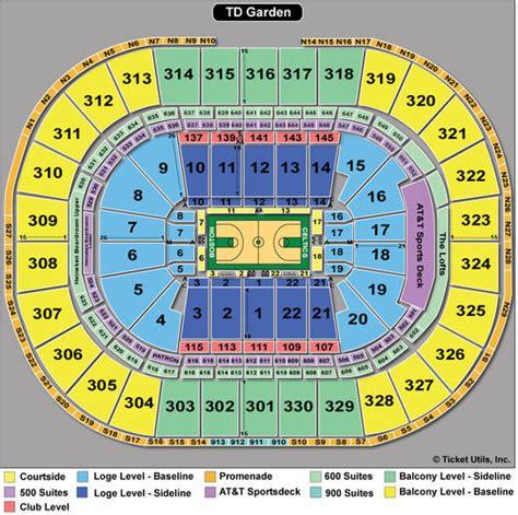 02 Arena Floor Plan by Td Garden Seating Boston Bruins Amp Celtics Seating Charts