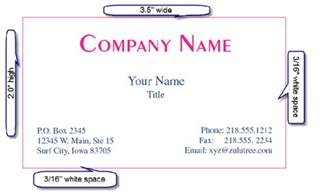 what is standard business card size business card size dafafad