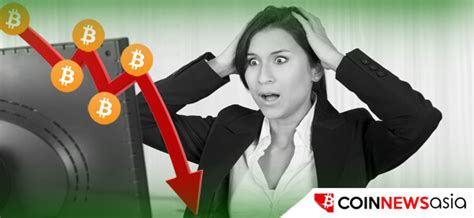 bitcoin drop bitcoin price drops again beginning of another meltdown