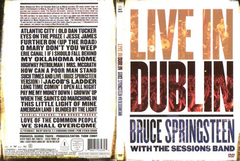 Cd Kompilasi Lives Here In Session American Rock Legends bruce springsteen with the sessions band live in dublin