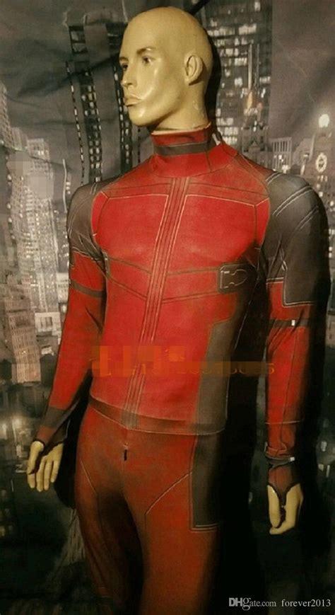Kaos Print Umakuka Dedpool Suits marvel deadpool costume digital print lycra costume baby